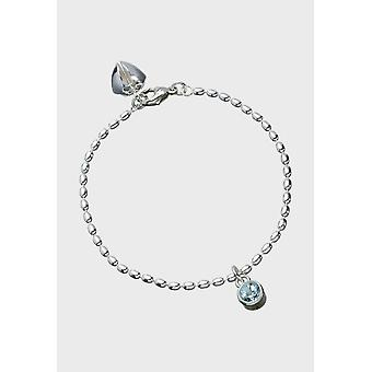 Kalevala Bracelet Women's Fountain Silver Topaz 2566561TO185 - Length 185 mm
