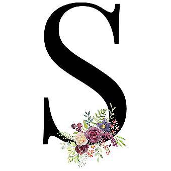 Summer New Flower Letter Bolsa Feminina Shoulder Canvas  Wild Messenger Bags /