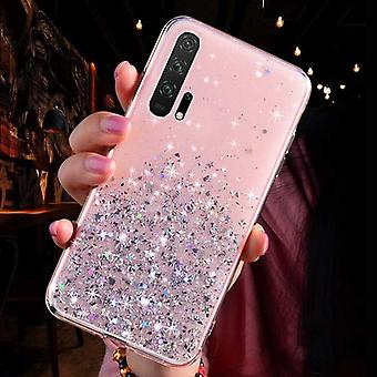Luxusní Gradient Glitter Star pouzdro na telefon pro Huawei P40, P20, P30 Pro Lite Kryt