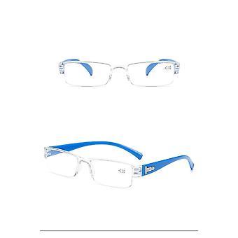 Neliö Tr90 Lukulasit Vanteeton, Ultrakevyt Kehyksettömät silmälasit1,5 2,0