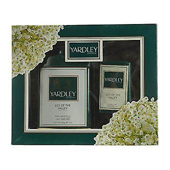 Yardley English Lavender Gift Set 200g Perfumed Talc + 100g Fragranced Soap