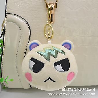 Animal Crossing Keychain, Cute Shaped Pendants Keyring, Animal Plush