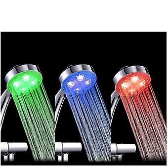 Robinet d'eau led-couleurs changeant avec le capteur de température