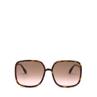 Dior SOSTELLAIRE1 dark havana female sunglasses