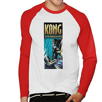King Kong La 8a Maravilla del Mundo Hombres's Baseball camiseta de manga larga