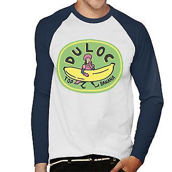 Shrek Duloc Top Banana Mænd's Baseball langærmet T-shirt