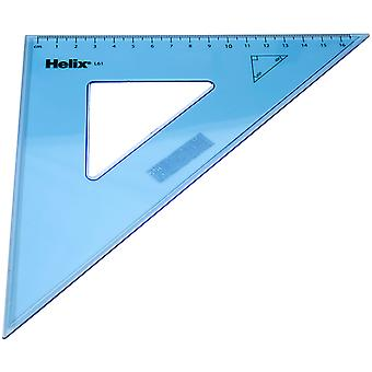 Helix L61040 Set Square 260mm 45 Degree