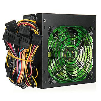 1000w 110~220v Power Supply Psu Pfc 12cm Led Silent Fan Atx 24pin 12v Pc