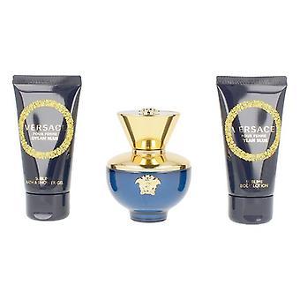 Femei's Parfum Set Dylan Blue Versace (3 buc)