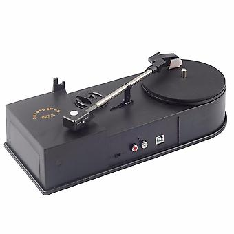 Usb Portable Mini Vinyl Turntable Audio Player, Mp3/wav/cd Converter Without