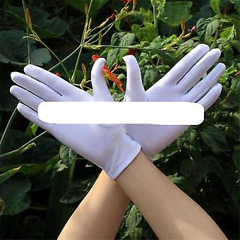 Black White Summer Gloves