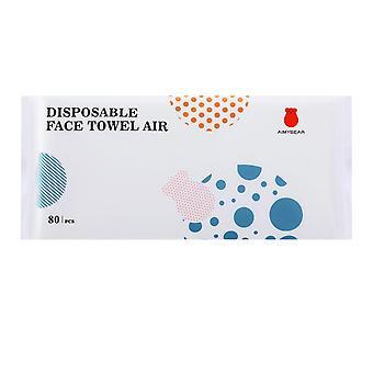 Serviettes pour le visage jetables Tissus de coton pur non parfumés Utilisation sèche et humide pour la peau sensible