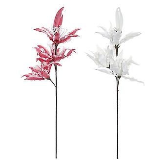 Decorative Flower DKD Home Decor EVA (Ethylvynilacetate) (2 pcs) (40 x 107 cm)