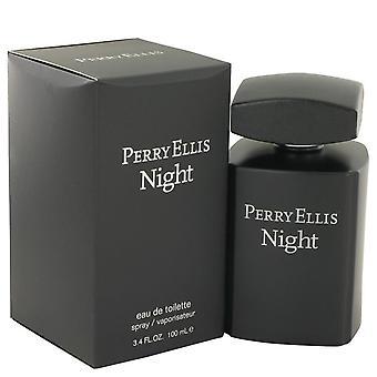 Noche de Perry Ellis Eau De Toilette Spray de Perry Ellis 3.4 oz Eau De Toilette vaporizador