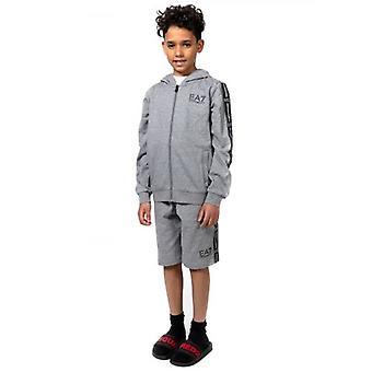 EA7 Kids Grey Bermuda Short