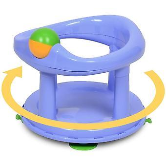 Säkerhet 1: a svängbara babybadkar 360 graders stödstol pastell