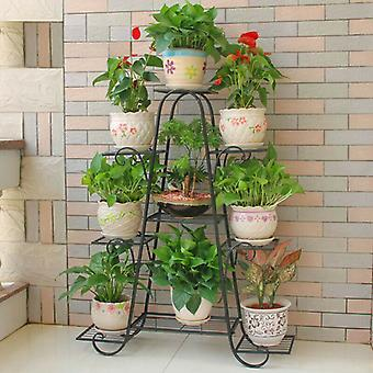 Thickened Metal Plant Stand Gardener Succulent Flower Shelves