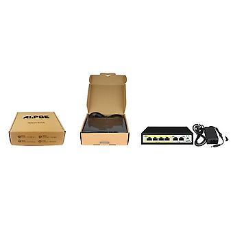 4 Port 48v Poe Switch Ethernet Switch With Ieee 802.3 Suitable For Ip Camera