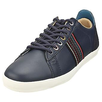 Paul Smith Osmo Mens Casual Trainers in Dark Navy