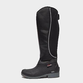 New BATTLES Women's HyLAND Norway Winter Yard Boots Black