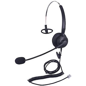 HanFei Telefon Headset mit Geruschunterdrungsmikrofon fr Avaya, Mitel, Polycom, HanFei, Nortel,