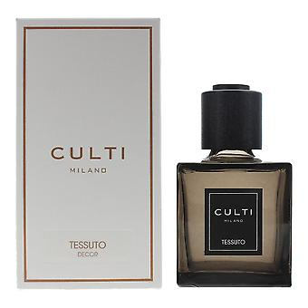 Culti Milano Decor Diffuser 250ml - Tessuto - Sticks Not Included In The Box