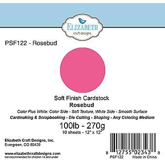 Elizabeth Craft Designs - Soft Finish Cardstock Rosebud