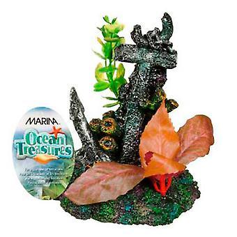 MARINA MARINA ANCHOR OCEAN TREASURE (Peixe, Decoração, Ornamentos)
