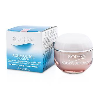 Aquasource cocoon balm in gel 48 h continuous release hydration (normal to dry skin) 183379 50ml/1.69oz