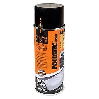 Spray paint Foliatec 2403 Leather Black Gloss finish (400 ml)