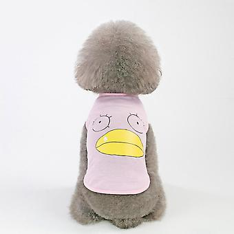 Big-billed duck vest summer small dog pet clothing