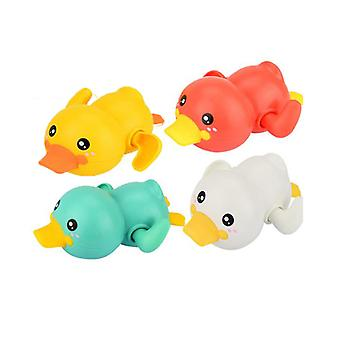4pcs Duck Animal Bath Toys For Baby Toddlers, Wind Up Floating Toys