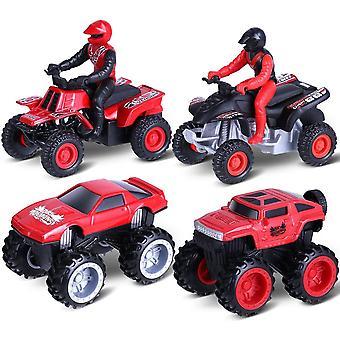 Aufziehautos Spielzeugautos, HanFei Legierungsspielzeug Auto, Motorrad, Auto Spielzeug, Reibung