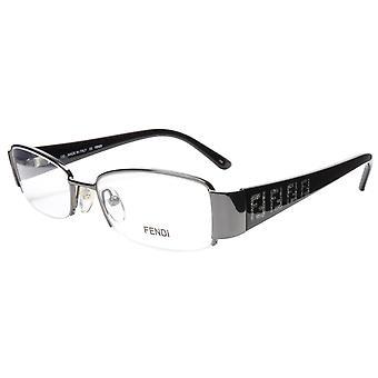 FENDI Eyeglasses Frame F894 (035) Metal Dark Gunmetal Italy Made 51-17-130, 28