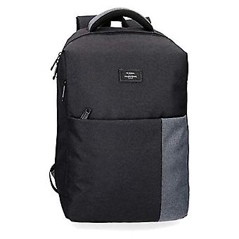 MOVOM Band Backpack Casual 40 centimeters 15.6 Black (Negro)