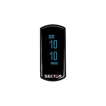 Sector Sin Límites Reloj Unisex, SECTOR FIT Collection, Digital, Plástico y Policarbonato - R3251569001