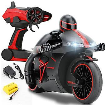 2.4G Mini Fashion Remote Control Drift Motor Kids Toys for Gift rc motorcycle(Red)