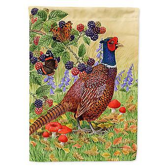 Caroline's Treasures Asa2121Gf Pheasant Garden Size Flag, Piccolo, Multicolore