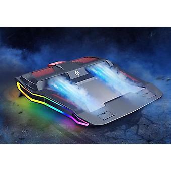 ゲーミングラップトップ調節可能なスタンド強力な空気流冷却パッド