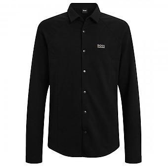 Boss Green Hugo Boss Banzi_S Long Sleeve Jersey Shirt Black 001 50448746