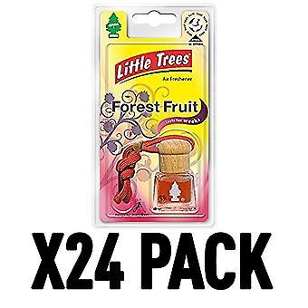 Forest Fruit (Pack Of 24) Little Trees Bottle Air Freshener