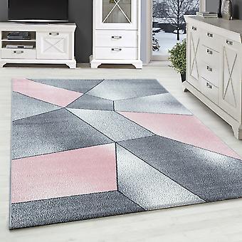 Sala de estar alfombra BETTY pila corta alfombra de diseño moteado