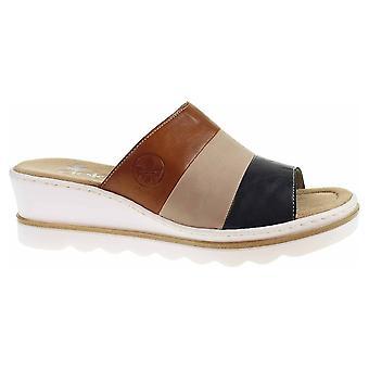 Rieker Blau Kombi 6749214 scarpe da donna estive universali