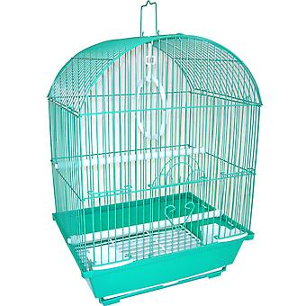 """Yml A1304Grn Round Top Style Small Parakeet Cage, 11 X 9 X 16"""""""