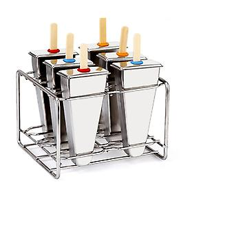 Stainless Steel Reusable Ice Cream Moulds