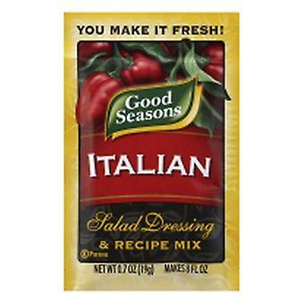 Boa estação Salada Molho & Receita Mix Italiano, 0.7 Oz