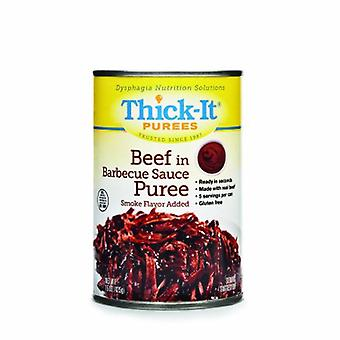 Thick-It Puree H151915 oz Beef in BBQ Sauce, 1 Each