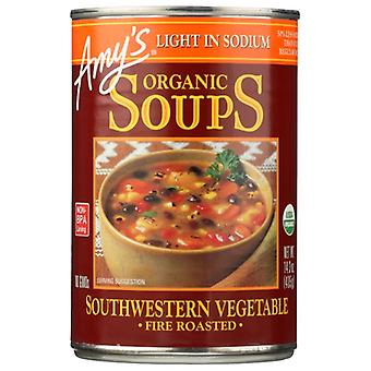 Amys Soup Veg Rstd Sthwstrn Ls, Case of 12 X 14.3 Oz