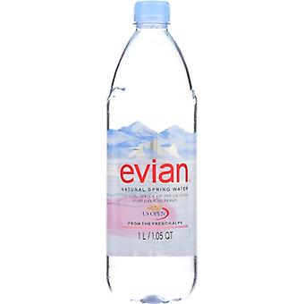 Evian Water Spring Loose, Case of 12 X 1 Liter