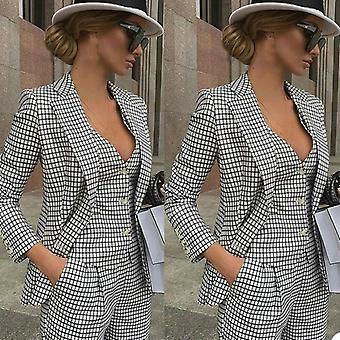 Women Ladies Formal Evening Party Tuxedos Formal Work Wear ( Set 1 )